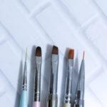 ジェルネイルに使う筆の種類